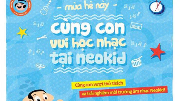 """""""Cùng Con Vui Học Nhạc Tại Neokid"""" – Hè 2014"""
