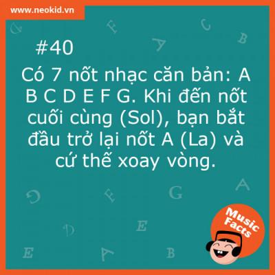 Music Fact 40