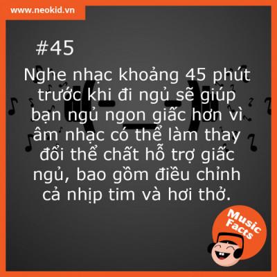 Music Fact 45