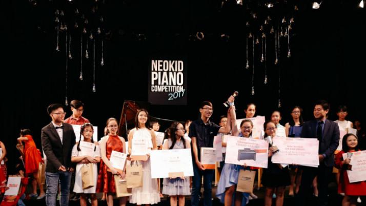 Biểu diễn và Trao giải Neokid Piano Competition 2017