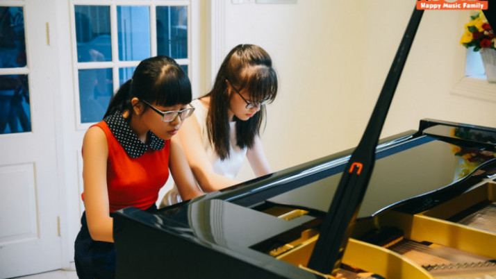 Học Piano trẻ em như thế nào?