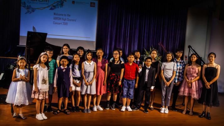 Luyện thi ABRSM High-Scorers Concert 2019