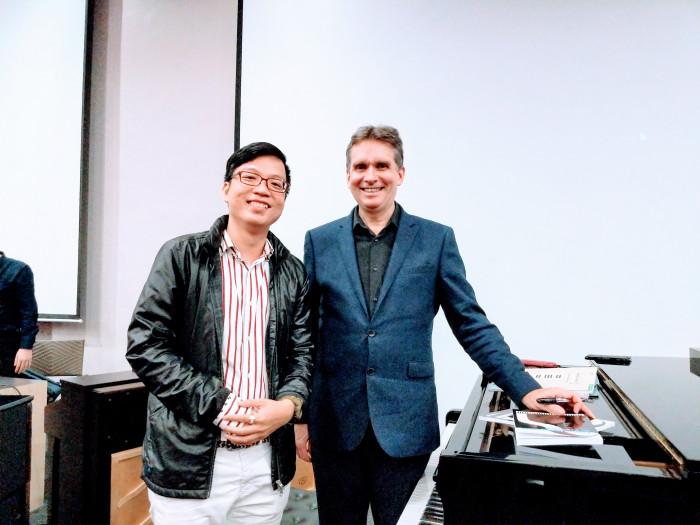 Neokid dự hội thảo Giáo dục PIano và Sư Phạm Âm Nhạc quốc tế thầy Kap Kỳ Anh Murray McLachlan